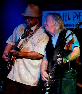 Larry Garner with Norman Beaker - Eel Pie Club 2014