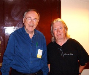 Norman Beaker with Chris Barber