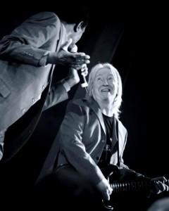 Norman Beaker with Herbie Goins