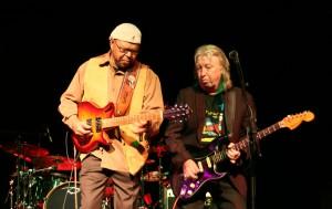 Norman Beaker with Larry Garner